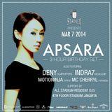 Apsara Live @ Stadium (Jakarta, Indonesia) [2014-03-07]