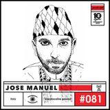 electrocaïne session #081 - José Manuel