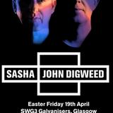 JON MANCINI  - Sasha & John Digweed warm up - LIVE at SWG3 April 2019