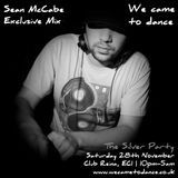 Exclusive Sean McCabe Mix for We Came To Dance