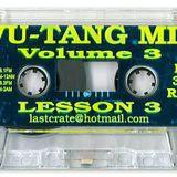 Dj 3Rd Rail - Wu-Tang Lesson 3 ( Side A )