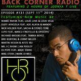 BACK CORNER RADIO: Episode #131 (Sept 11th 2014)