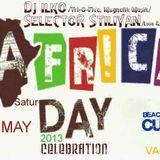 AFRICA DAY CELEBRATION live @ CUBO beach bar, VARNA; 25.05.2013