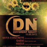 Live @ Different Night, Zagreb 11.05.12