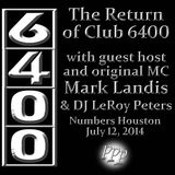 The Return of 6400 W/Mark Landis live on Cypress Radio 101.7