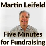 Five Minutes for Fundraising 035 - Fear and Faith in Fundraising