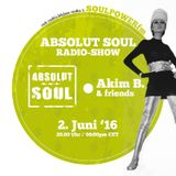 Absolut Soul Show /// 2.6.2016 on SOULPOWERfm