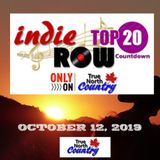 TRUE NORTH COUNTRY INDIE TOP 20 OCTOBER 12, 2019