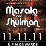 Vaeya DJ Set - Opening for Shulman at Olive Qutub, New Delhi. Date - 11/11/11