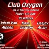 deejay archy live @ club oxygen 5th july @ the annexe 2013