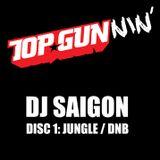 DJ Saigon - Top Gunnin' Disc 1: Jungle / DnB (2010)