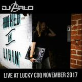 DJ Arlo Live at Lucky Coq November 2017