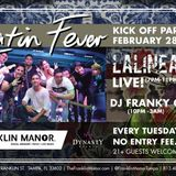 NEW LATIN TUESDAYS AT FRANKIN MANOR LIVE BANDS FOOD DRINKS & LIVE DJS FROM 7PM TO 3 AM #DJFRANKYG