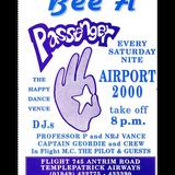 DJ Geordie Parker ,Airport 2000 Templepatrick ,Antrim , Northern Ireland , !995 Rave