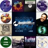 DEEPINSIDE RADIO SHOW 032 (Jocelyn Brown Artist of the week)