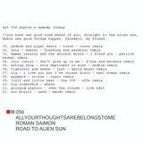 AYT 056 road to alien sun