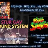 King Sturgav @ Reuben's Lawn, York Town, Clarendon August 1978 Vintage Sound System Audio