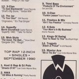 Source Magazine The Fat Tape September 1990