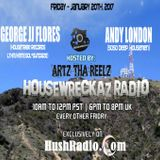 HouseWreckaz Radio 143 Ft. George JJ Flores & Andy London