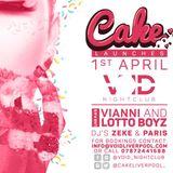 CAKE - THE LAUNCH - Deejay Zeke