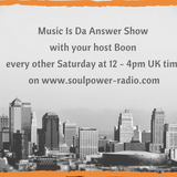 Music Is Da Answer Show with Boon - 290918