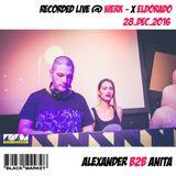 Alexander b2b Anita - Live @ WOHNZiMMER / Werk X / Vienna / Blackmarket