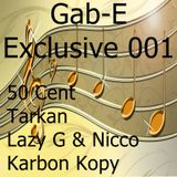 Gab-E - Exclusive Mix 001 (2018)
