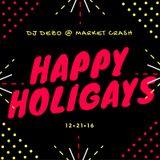 DJ Dezo @ Market Crash - Happy Holigays
