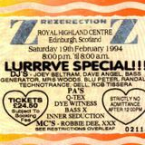 Dave Angel @ Rezerection: Lurrrve Special (1994)