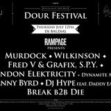 DOUR FESTIVAL 2012 - Exclusive mix by Murdock (Rampage)