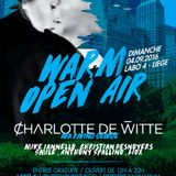 Charlotte de Witte warm open air 4 sept 2016