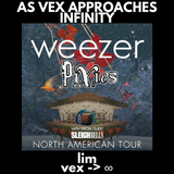 Weezer, Pixies, with special guest Sleigh Bells - North American Tour