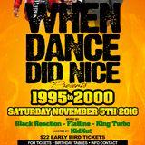 When Dance Did Nice 19 Mix [November 5th, 2016 @ La Victoria Banquet Hall]
