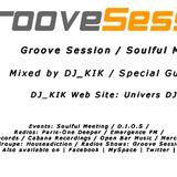 DJ_KIK - Groove Session EP080 2012 Radioshows !