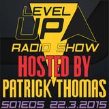 DJ Patrick Thomas - Level UP radioshow S01E05 The Beginning