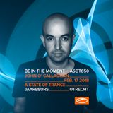 John O'Callaghan live at A State of Trance 850