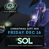 Dj Sol - Q959 Christmas Gift Mix 2016
