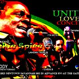 Ijahdan Taurus backed up by The First Serenade band at Unity Love concert featuring Richie Spice- 3