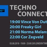 Vince Von Dutch exclusive radio mix Techno Connection UK Underground FM 03/08/2018