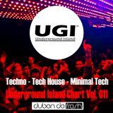 Underground Island Charts Vol. 011 (Tech House & Techno Edition) June 2015