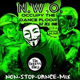DJ JES ONE - NWO = OCCUPY THE DANCE  FLOOR feat. ANONYMOUS NOV 5 2012 NON-STOP-DANCE-MIX