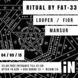 Ritual Mix @ iN Club, Baku (04.09.15)