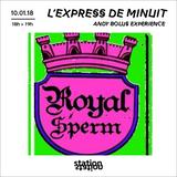 L'Express de minuit / Andy Bolus Expérience
