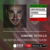 Simone Vitullo - Go Deeva Records Radio #001 (Underground Sounds Of Italy)