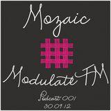 Mozaic @ ModulateFM - 30.09.12