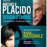 Michele Placido@Radio Club 91 intervistato da Claudia Carbone