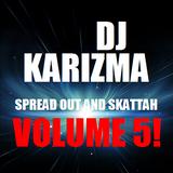 DJ KARIZMA - SPREAD OUT AND SKATTAH VOL 5! ( NOVEMBER 2012 D&B MIX )