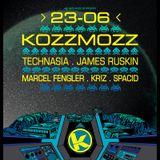 Technasia - Live @ Kozzmozz, Vooruit Concertzaal, Gent, Bélgica (23.06.2012)