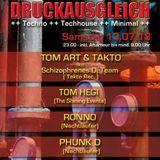 Tom Art - Druckausgleich @ Inside 13.07.2013