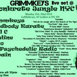 GRIMMkEYS Live @ Konkrete Jungle OG 02/22/2016